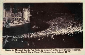 """A Night In Venice"", Marine Theatre, New York 1952."