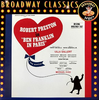 """Ben Franklin In Paris"", CD Original Cast."