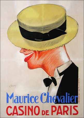 Maurice Chevalier - Casino de Paris, 1926.