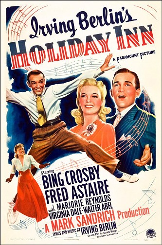 """Holiday Inn"" 1942. Astaire Crosby Reynolds."