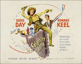 CD SAM 0039. Keel Day Calamity Jane 1953 02.