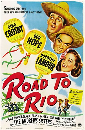 """Road To Rio"". Film från 1947."