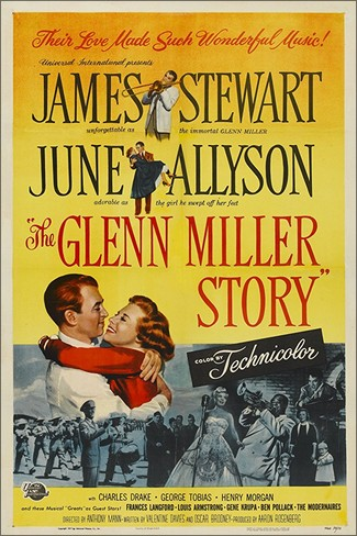 """The Glenn Miller Story"" eller ""Moonligt Serenade"". Film från 1954."
